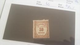 LOT 246687 TIMBRE DE FRANCE NEUF* N�46 VALEUR 14,5 EUROS