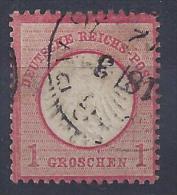 #6 - ALLEMAGNE (Empire) N° 4 - Oblitéré - Allemagne