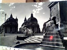 ROMA PIAZZA DEL POPOLO    VB1955  ER14596 - Places & Squares