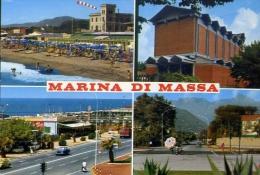 Marina Di Massa - 1821-1 - Formato Grande Viaggiata Mancante Di Affrancatura - Massa