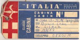 Italia - Genova - Giulio Cesar. Paquete. Navio. Ship. Steamer. Packet-Boat. Paquebot. Bateau. Navire. Nave. - Bateaux