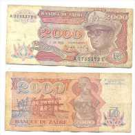 Zaire 2.000 Zaires 1991 Pick-36-a Ref 22266 - Zaire