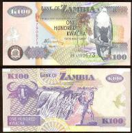 Zambia 100 Kwacha 2006 Pick-38-f UNC - Zambie