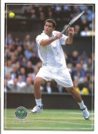 THE CHAMPIONSHIPS WIMBLEDON - Pete Sampras - Photographed By Allsport For The Wimbledon Lawn Tennis Museum - Tennis