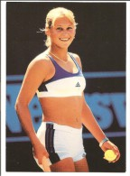 Anna Kournikova - Photographed By Allsport - Published By Sporting Titles Of London - Tennis