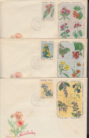 1969-FDC-15  CUBA. FDC. 1969. NAVIDADES. CHRISTMAS. FLORA. FLORES. FLOWERS. - FDC
