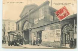SAINT-ETIENNE - Caserne Des Pompiers - Pompe Automobile - Saint Etienne