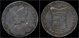 Liege Sede Vacante Ecu Au St.Lambert 1694 - Belgique