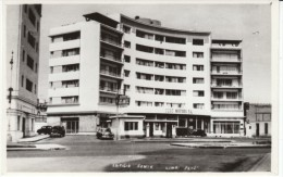 Lima Peru, Peru Motors S.A. Building, Autos, Street Scene, c1950s Vintage Real Photo Postcard