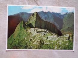 Peru Cuzco - Machu-Picchu      D126257