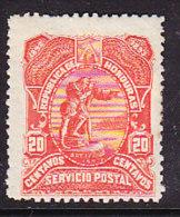 Honduras 1892 Discovery America - 20c. Vermillion - Honduras