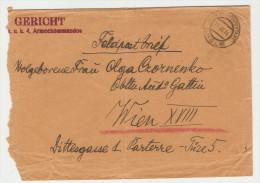 1916. Austrian WWI. K.U.K. Etappenpostamt Cholm (Khelm) Field Post Cds On Cover To Wien. - Covers & Documents
