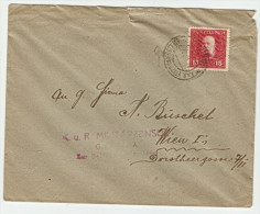 Cover With K.u.K Etappenpostamt Jedrzejczow FP Cds. 15H Feldpost Stamp. - Covers & Documents