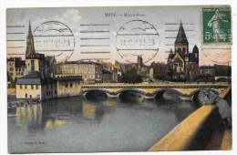 METZ EN 1921 - MOYEN PONT - Metz