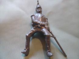 Mokarex Figurine Publicitaire-petit Modele 50 Mm-cavalier Sans Monture - Militaires