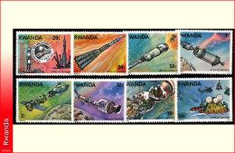Rwanda 0773/80**  Apollo-Soyouz  MNH