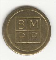 Jeton De Jeu - BMPP - Royaume-Uni