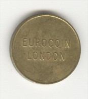 "Token ""Eurocoin London"" - Royaume-Uni"