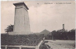 Cpa  WATERLOO Les Tombes Et La Pyramide - Waterloo