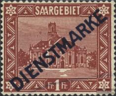 Saarland D11II Gestempelt 1924 Landschaften - Service
