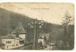 Trooz La Gare Et Le Tunnel - Trooz
