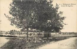 Rhone - Ref 742-  Taluyers - Croix Sainte Agathe - Carte Bon Etat - - Autres Communes