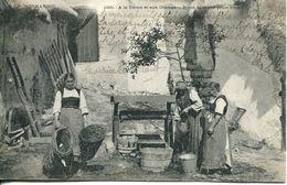 N°3501A -cpa A La Ferme Et Aux Champs - Agriculture