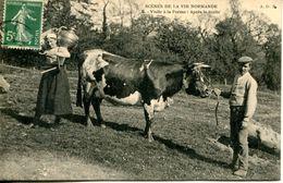 N°3502A -cpa Scènes De La Vie Normande - Agriculture