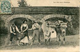 """N°3506A -cpa """"la Vie Aux Champs"""" - Agriculture"""