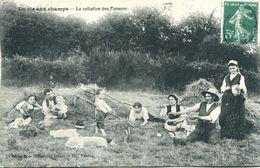 """N°3497A -cpa Collection """"la Vie Aux Champs"""" - Agriculture"""
