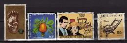 Cote D'ivoire Y&T N° 417.408.426.401. Oblitérés - Costa D'Avorio (1960-...)