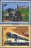 Österreich 1916-1917 (completa Edizione) Usato 1988 Mühlkreisbahn - 1981-90 Gebraucht