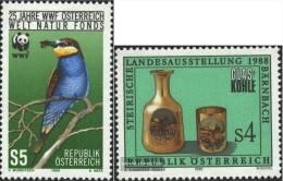Österreich 1918,1919 (completa Edizione) Usato 1988 WWF, Steirische Mostra - 1945-.... 2nd Republic