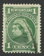 Newfoundland, 1 C. 1898, Sc # 80, Mi # 62b, Used. - 1865-1902