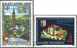 Österreich 1923,1924 (completa Edizione) Usato 1988 Francobolli Speciali - 1945-.... 2nd Republic