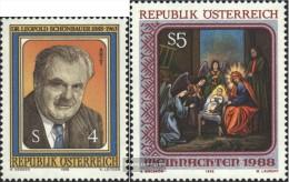 Österreich 1941,1943 (completa Edizione) Usato 1988 Schönbauer, Natale - 1945-.... 2nd Republic