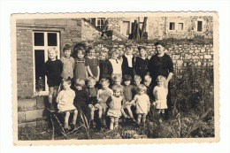 OLNE - Photo Carte - Ecole Gardienne - Souvenir D´Alberte Dehousse (y 208) B80 - Olne