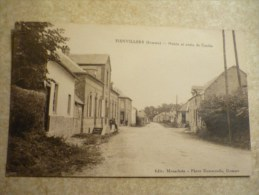 Fienvillers Mairie Et Route De Candas - Francia