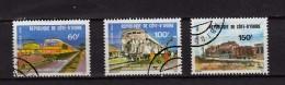 Cote D'ivoire Y&T N° 540.542.543..oblitérés - Costa D'Avorio (1960-...)