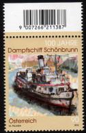 ÖSTERREICH 2012 ** 100 Jahre Dampfschiff Schönbrunn - MNH - Schiffe