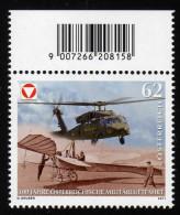 ÖSTERREICH 2011 ** 100 Jahre Militärluftfahrt - MNH - Militaria