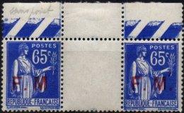 FRANCE - 65 C. Sans Point Après M Tenant à Normal Neuf LUXE - Franchise Stamps