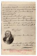 Histoire--Lettre De Voltaire Au Comte De Stadian,ministre De L'Empereur Demandant Protection   N° 28  éd ELD - Histoire