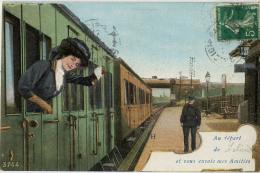 24 LALINDE AU DEPART TRAIN - France