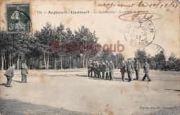 60 -LIANCOURT ANGICOURT -Le Sanatorium - La Partie De Croquet  - 2 Scans - Liancourt
