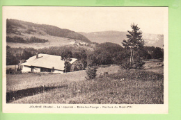 JOUGNE - Entre Les Fourgs - Le LAQUEREZ Et Les Rochers Du Mont D' Or - BE - Edit. Parriaux  -  2 Scans - France