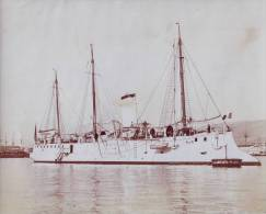 Marine fran�aise - Photographie originale de l'aviso CONDOR - Photo Bougault