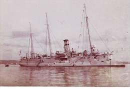 Marine fran�aise - Photographie originale de l'aviso-torpilleur FAUCON - Photo Bougault