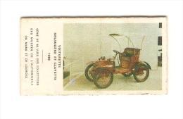 Voiturette Delaug�re et Clayette 1898 Ticket de pes�e Automobile (Mus�e de Lourdes ou du Mans)