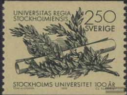 Schweden 1033 (kompl.Ausg.) Postfrisch 1978 100 Jahre Universität - Sweden